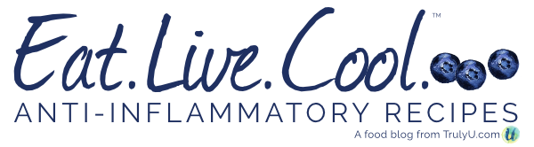 Eat.Live.Cool. | Anti-inflammatory Recipes + Living logo