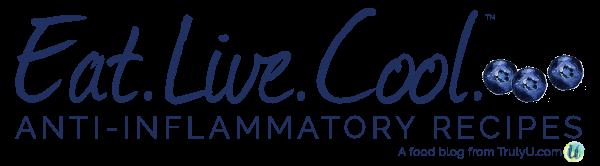 Eat.Live.Cool. | Anti-inflammatory Recipes + Living logo